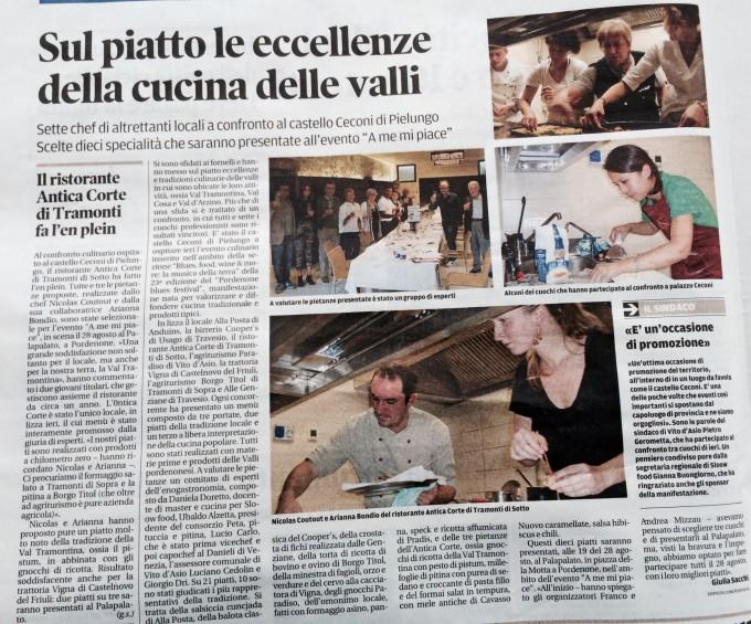 Il Messaggero, 19 agosto 2014