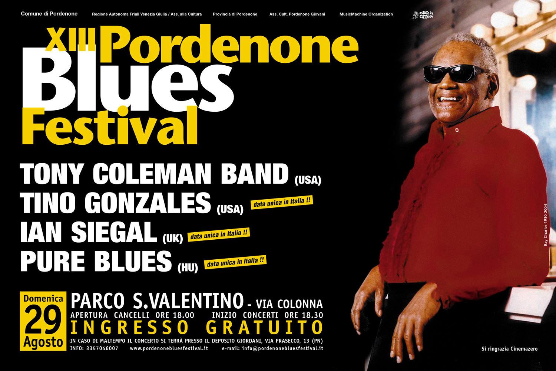 Edizione 2004 - Pordenone Blues Festival