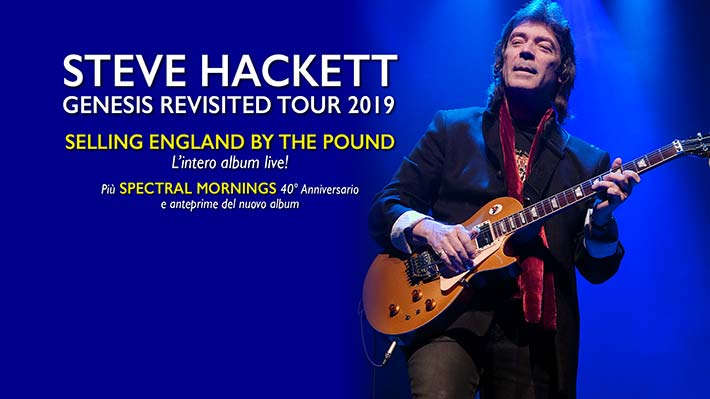 Steve Hackett Tour - Genesis