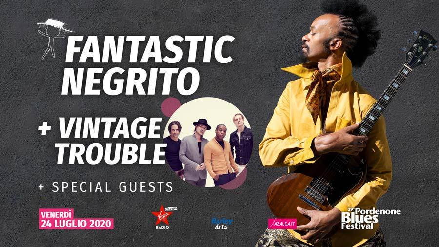 Fantastic Negrito + Vintage Trouble
