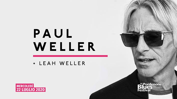 Paul Weller e Leah Weller