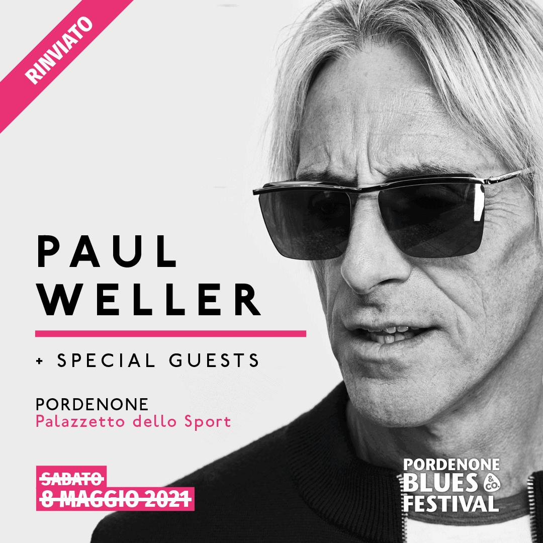 Paul Weller rinviato il concerto a Pordenone