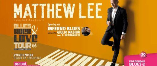 Matthew Lee al Pordenone Blues